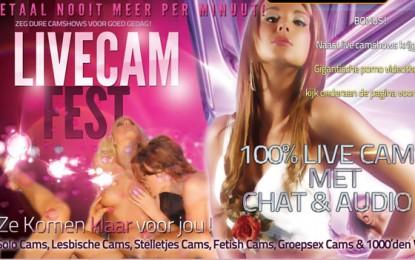 Livecamfest.com, de ultieme cam & porno site, onbeperkt gratis cams!